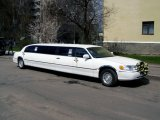 Lincoln Town Car белый Limo фото 2